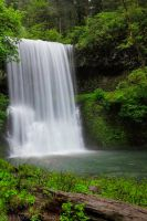 Lower South Falls-revisit by 11thDimensionPhoto