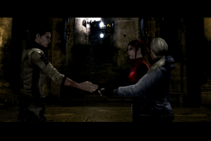 RE6 Jill/Claire Story 3 by RPGxplay
