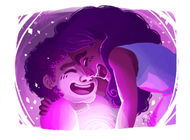 Steven and Connie by katiepox