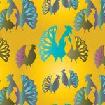 Rooster Patterns by myPhotoshopBrushes