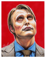 #023 - Hannibal Lecter [Hannibal] by NessaSan