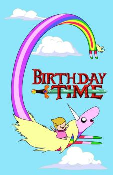 Birthday Time (Adventure Time) by mynando