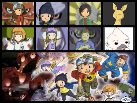 Digimon Frontier by Foxraze