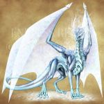 Endless Realms bestiary - Frost Dragon by jocarra