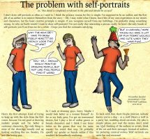 The problem with selfportraits by wwwwolf
