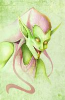 Green Goblin by FoxSagebrush
