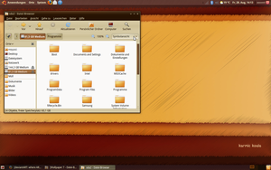 My Ubuntu Desktop by Bababoss