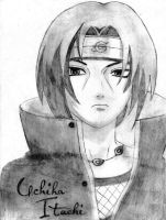 Itachi Drawing ReEdited by HunterJ