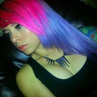 Purps and Pinks by LittleLeanneMarie