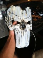Death's Mask from Darksiders II finished by AFXtuming