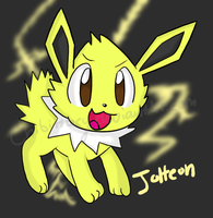 Jolteon by chibitracy