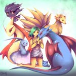 My Pokemon Team. by Sukesha-Ray
