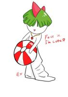 Ralts doodle by ShiroRyu927