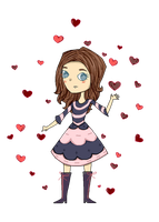 Heart Player GIF by sel-and-cel