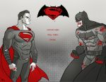 Batman V Superman by AndrewKwan