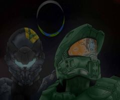 Master chief and locke by Jinx-bite