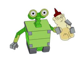 """""""Wall-E"""" by Simpsons-Addict"""