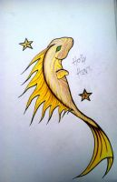 The Gold Fish by clearfishink