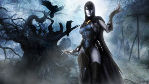 Raven Wallpaper: Injustice: Gods Among Us by BPaluan