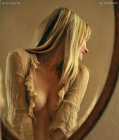 Candy in front of the mirror2 by Val-Mont