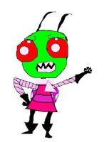 invader zim by TweetyFreak