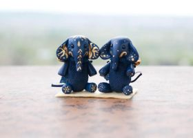 indian and starry elephants by freedragonfly