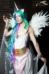 AFO 2012 - My Little Pony | Celestia by elysiagriffin