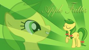 Apple Fritter Wallpaper by 30ColoredOwl