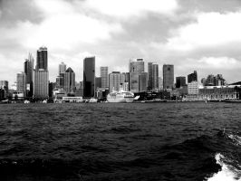 Cityscape  ..BW by star--crossed