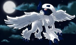 Mega Absol by MT3spark