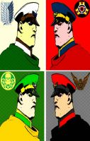 M. Bison four panel comic print pop art by TheGreatDevin
