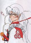 Sesshomaru on a Leash for @Prepare-Your-Bladder by Open-DOOR73