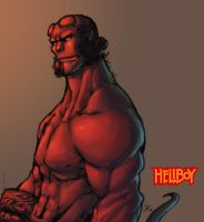 creons hellboy colored by shalomone