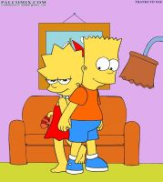Lisa and Bart welcome you by Yet-One-More-Idiot