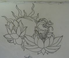 Lotus design by see-my-wings