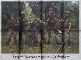 BLACK//CELL - heart brakers and life takers by I-MOKH