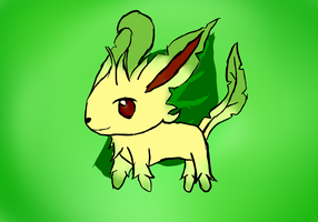 Leafeon by linkgirl1