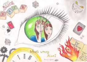 American Mcgee's Alice drawing by MetalWing15