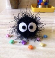 Soot Sprite by craftyhanako