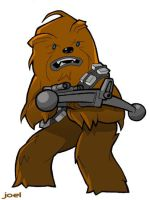 Wookiee Wednesday 01 by JoelRCarroll