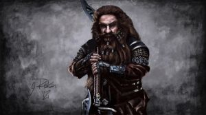 The Hobbit 2012 - Gloin by greQ111