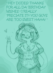 Thanks for da' Activation Day Wishes!! by Ask-MusicPrincess3rd
