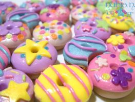 Cute Yummy Donuts by colourful-blossom