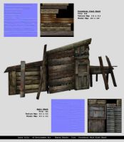 Shanty Shacks by LaJolly