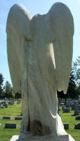 Mount Olivet Cemetery Archangel Uriel 79 by Falln-Stock