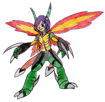 The Striking Insectoid of Kindness by MegaloRex