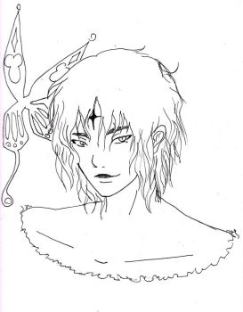 Tyki Lineart by Melancholy-Meloy