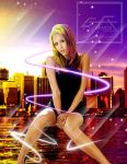 Jessica Alba Rays of Colors by gfx-micdi-designs