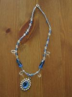 Blue princess necklace by Santian69