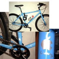 Aqua Bicycle by Savay